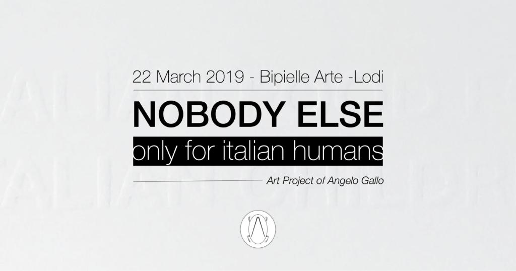 Nobody Else Lodi 2019 Angelo Gallo