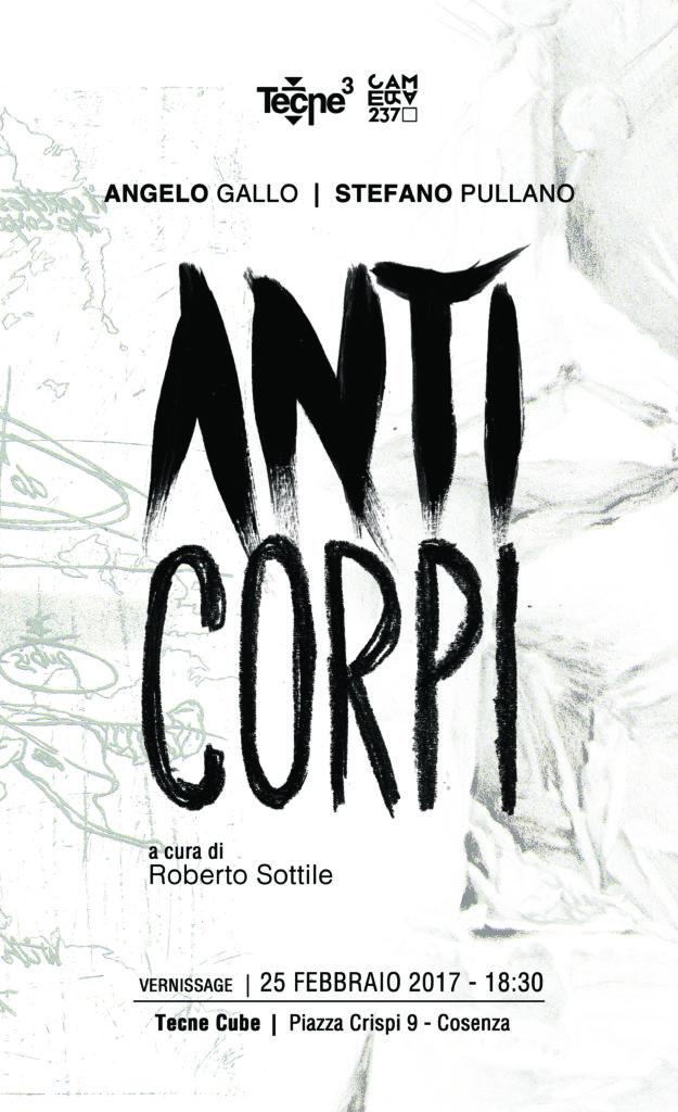 locandina Anticorpi Angelo Gallo Roberto Sottile Tecne Cube Cosenza
